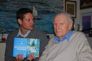 Frank mit Dr. Lindemann, 2 der insgesamt 8 Bücher