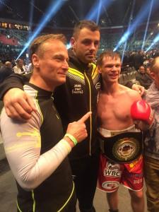Nach dem Kampf mit Stefan Freudenreich und Jan Christoph Jaszczuk von First Punch